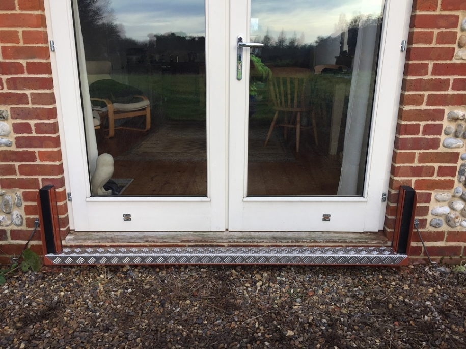 flood protection for french doors