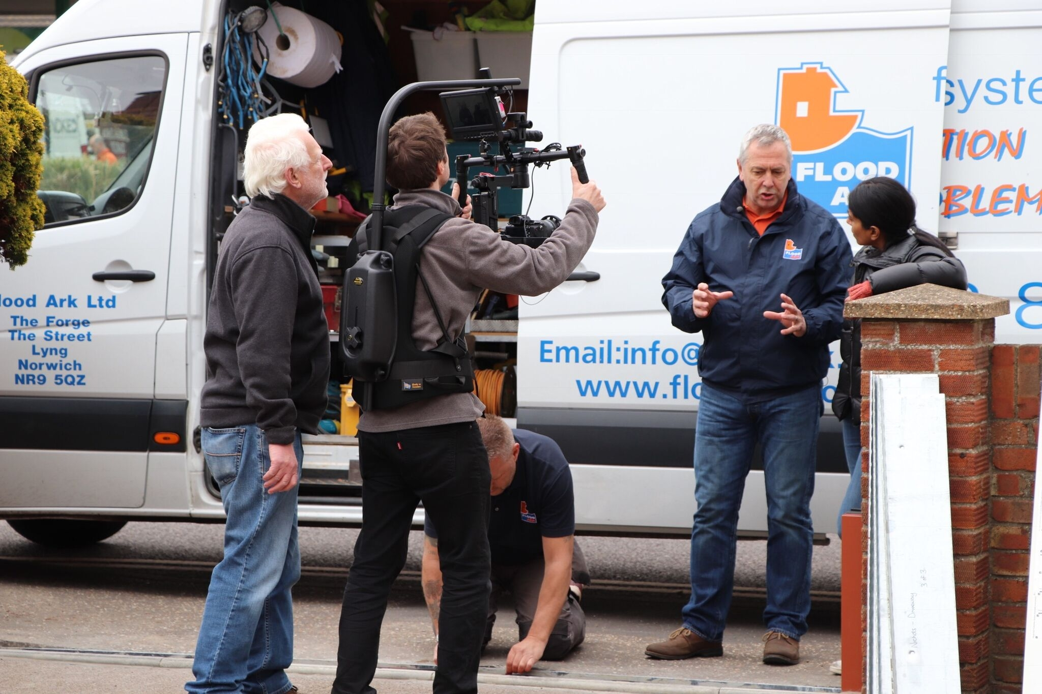 Steve Abbot MD of Flood Ark is interviewed