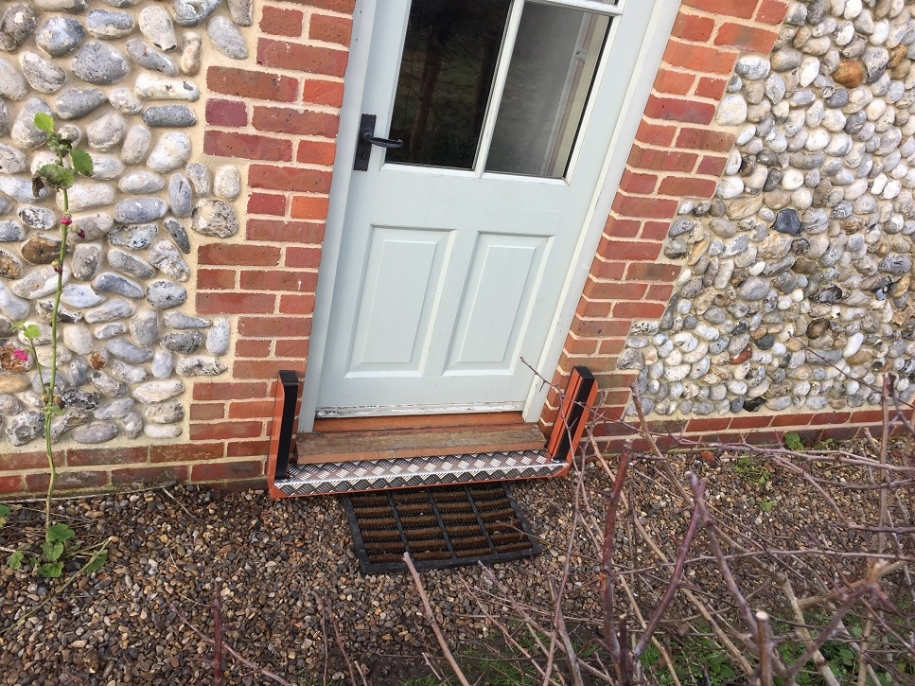 flood protection for entrance door