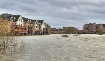 Flooded River Severn Homepage
