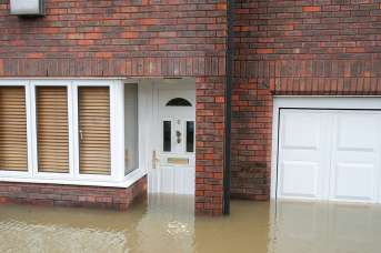 Flooded home during 2015 floods large