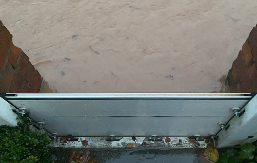Removable Flood Barrier