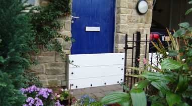 Entrance Door Flood Barrier